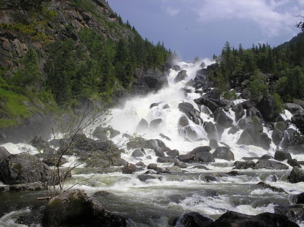 Водопад Учар (Чульчинский). Автор: Obakeneko. Фото:  www.flickr.com
