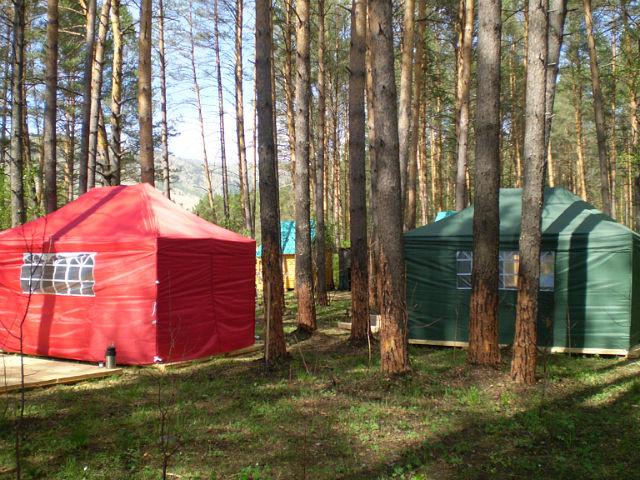 Кемпинг «Камлак». Фото: www.sibalp.com