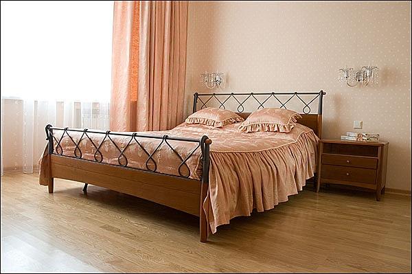 Спальня в квартире Бизнес-класса. Фото: hotels-nsk.ru