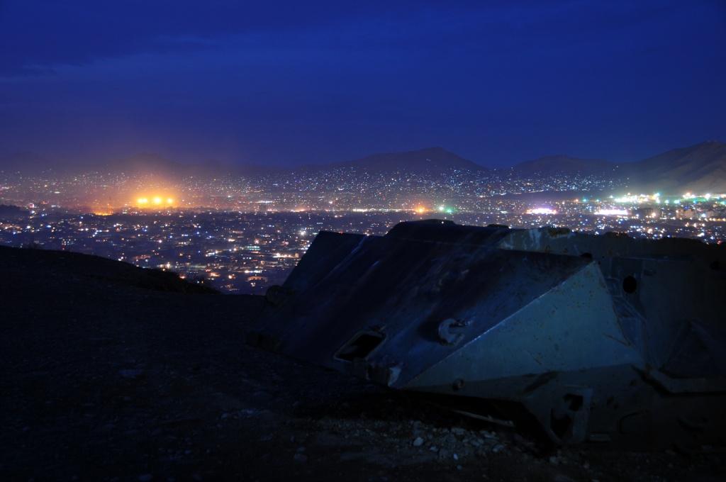 Кабул ночью. Автор: Afghanistan Matters Фото:  www.flickr.com