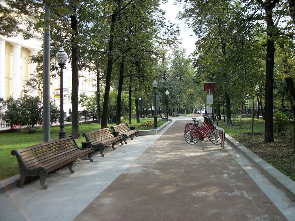 Покровский бульвар. Автор: SergeyStepykin. Фото:  www.en.wikipedia.org