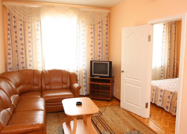 Люкс двухкомнатный. Фото: www.radugasib.ru