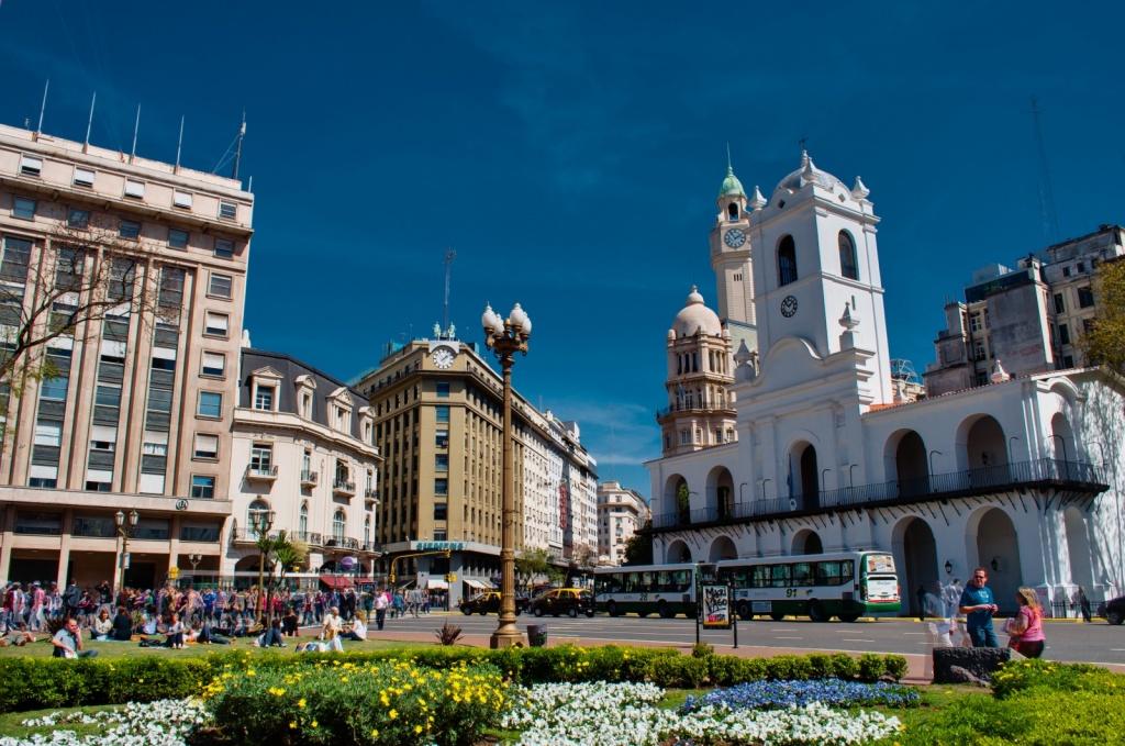 Пласа де Майо. Автор: David Almeida. Фото:  www.flickr.com