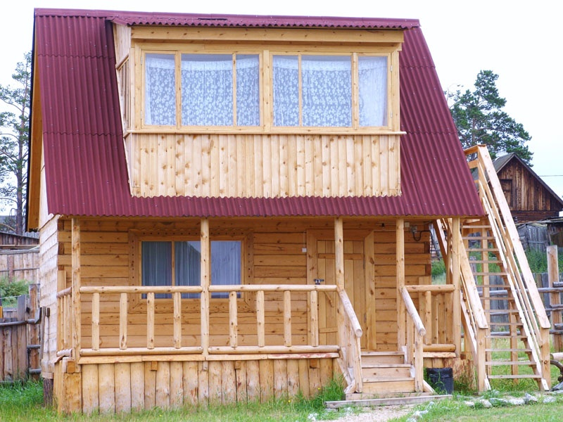 Гостевой домик   www.olhon-tur.com