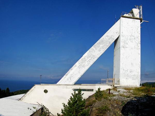 Большой Солнечный Вакуумный Телескоп. Фото Евгения Копылова   baikaler.ru