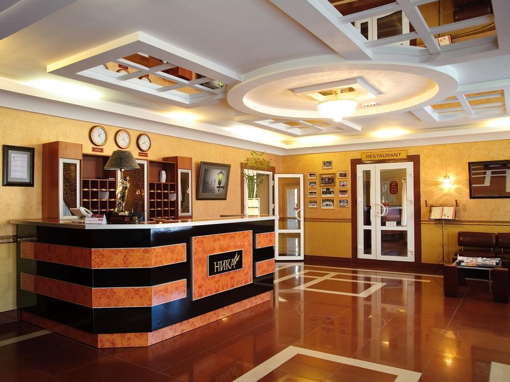 Ресепшн. Фото: www.otelnika.ru
