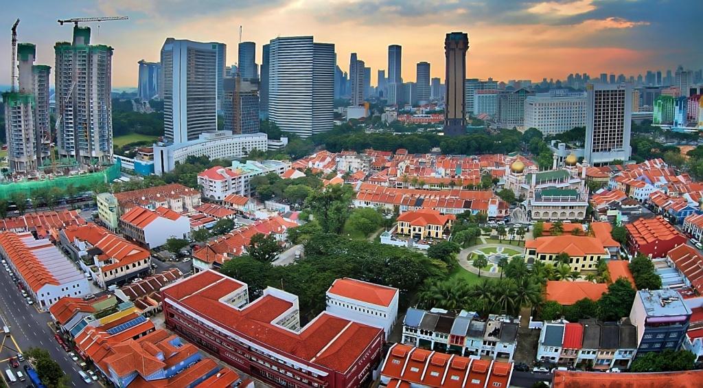 Вид сверху на район Кампонг Глам. Автор: erwinsoo. Фото:  www.flickr.com