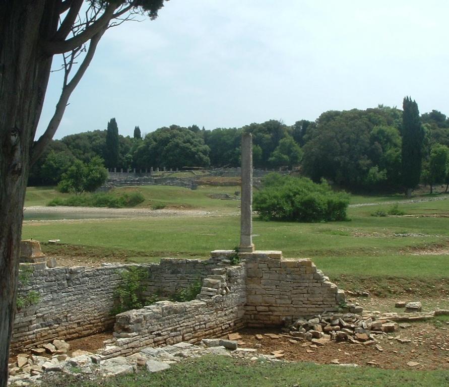 Останки римской виллы. Автор: Gruenemann. Фото:  www.flickr.com