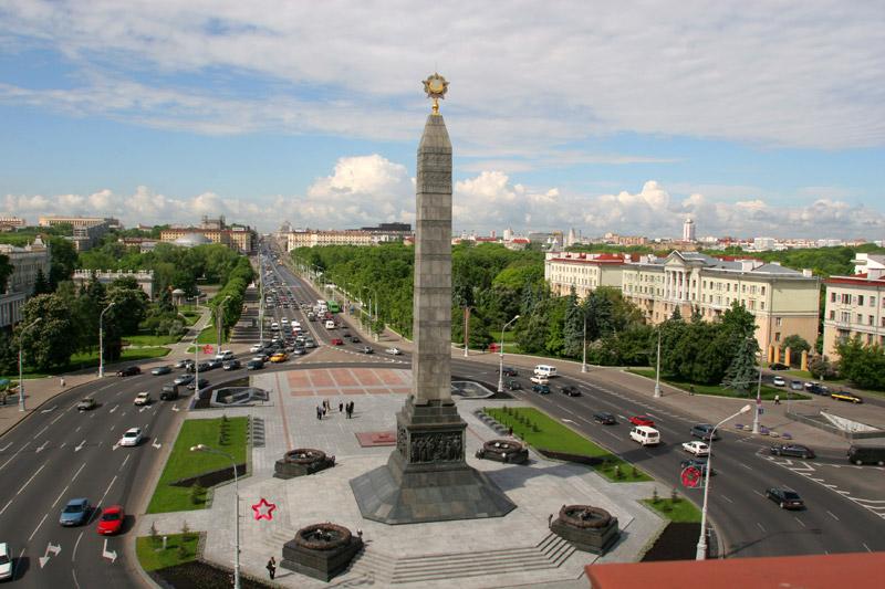 Площадь победы в Минске. Фото: belarus.by