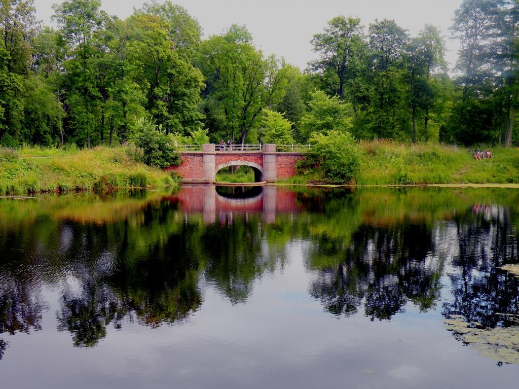 Плотина в Баболовском парке. Автор: Витольд Муратов. Фото:   wikimedia.org