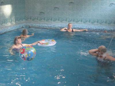 Водные процедуры. Фото: sanang.ru