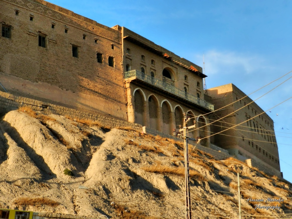 Цитадель Эрбиля. Автор: Hussam Mustafa. Фото:  www.flickr.com
