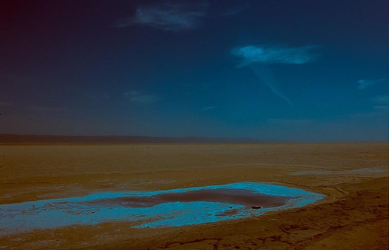 Соленое озеро Шотт-эш-Шерги. Автор: Jacqueline Poggi. Фото:  www.flickr.com