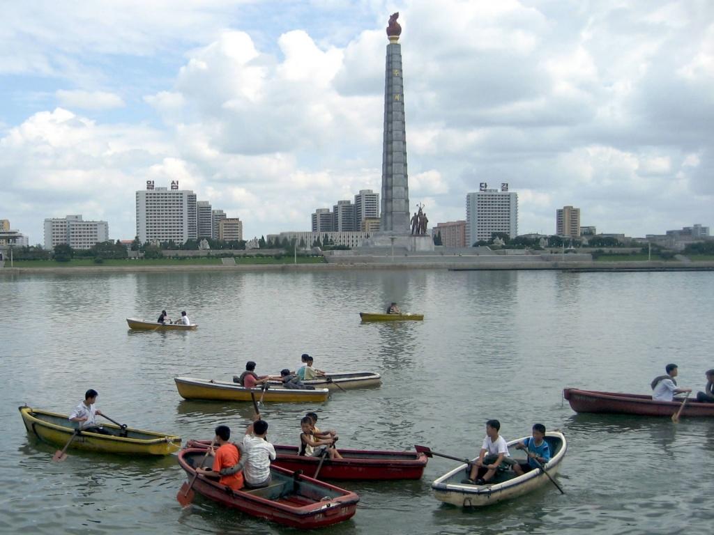 Река Тэедонг. Автор: D-Stanley. Фото:  www.flickr.com