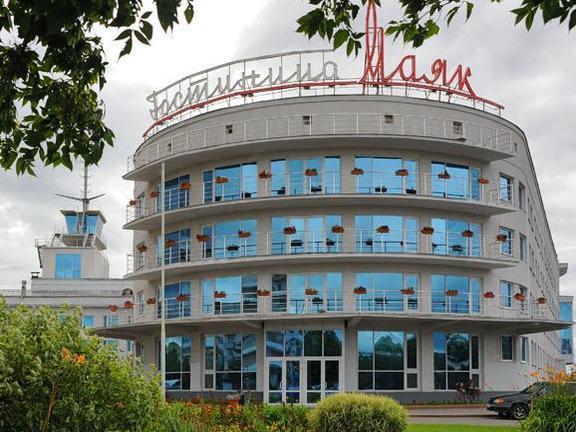 Вид на гостиницу. Фото: www.hotel-mayak.ru