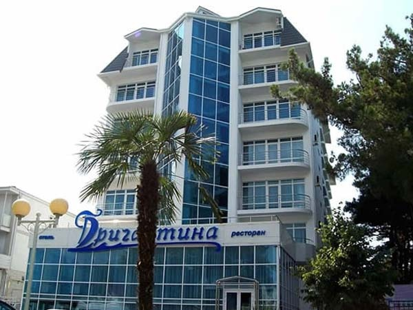Отель «Бригантина». Фото: www.brigantina-hotel.ru