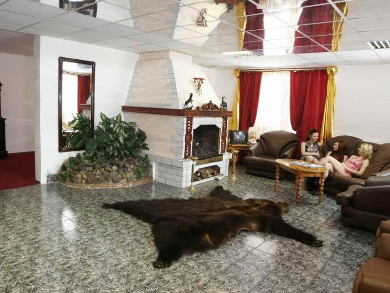 Каминный зал. Пентхаус. Фото: www.kedrko.ru
