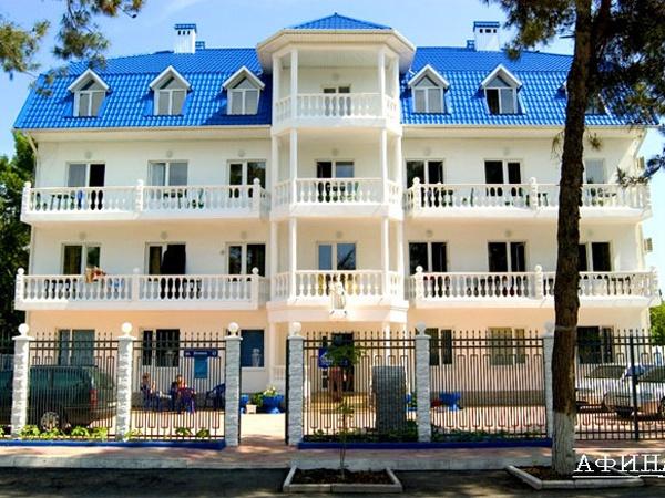 Гостиница «Афина». Фото: www.afina-div.ru