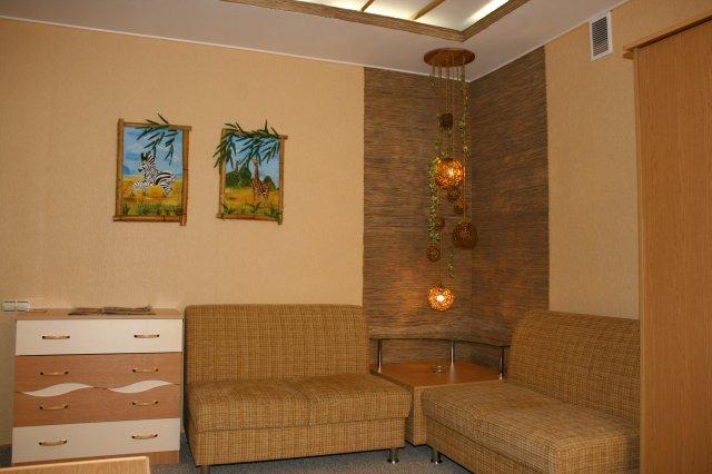 Номер-Студия «Сафари». Фото: hotel-irtysh.ru
