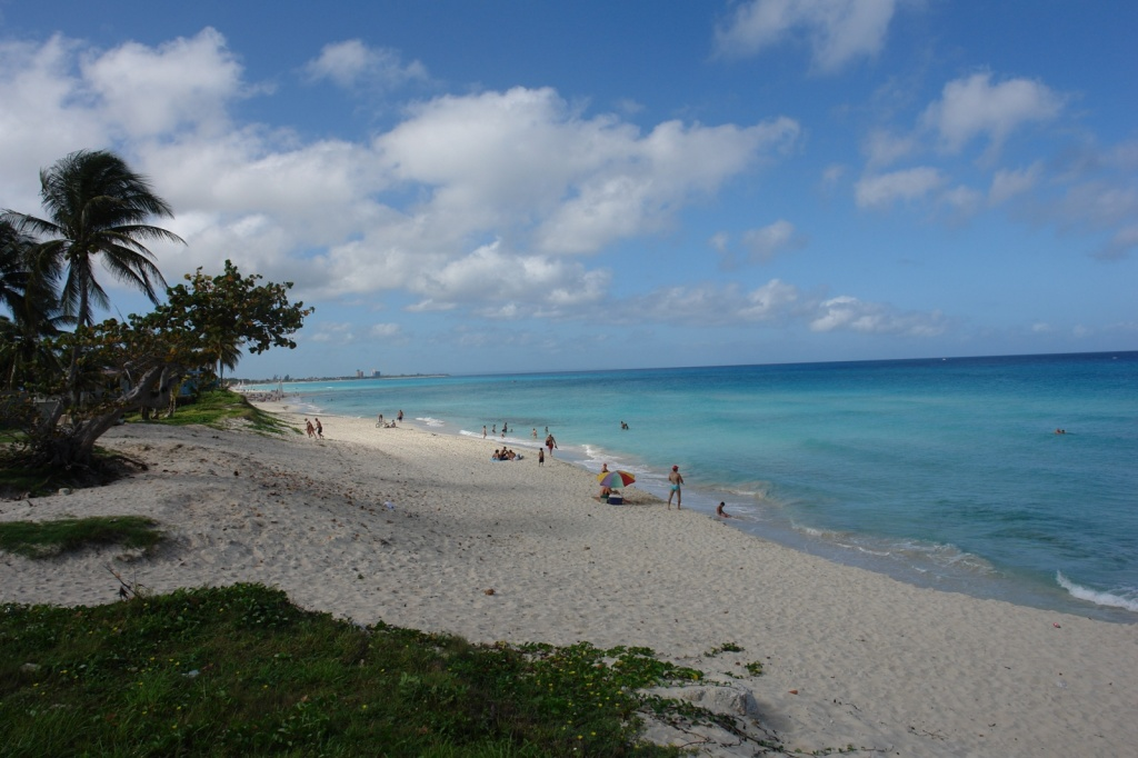 На пляже Варадеро. Фото:  Тонкости туризма