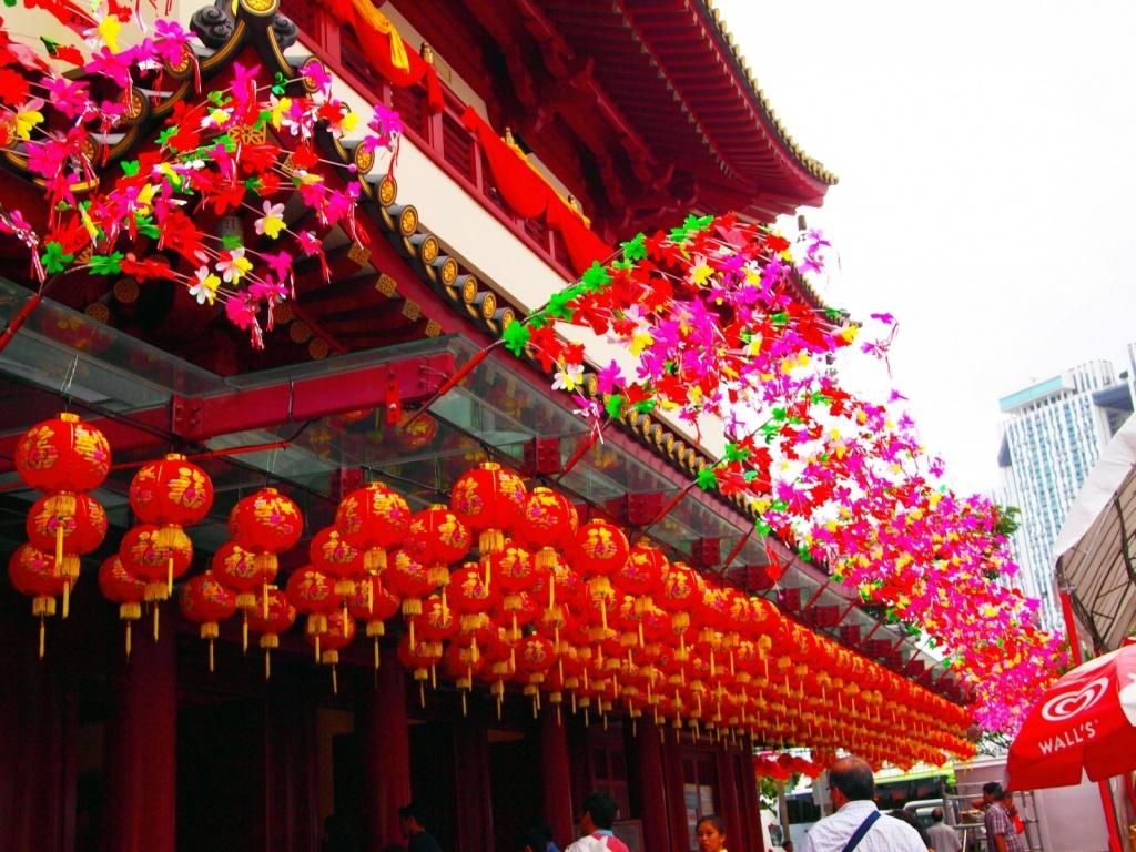 Китайские украшения. Автор: purysky. Фото:  www.flickr.com