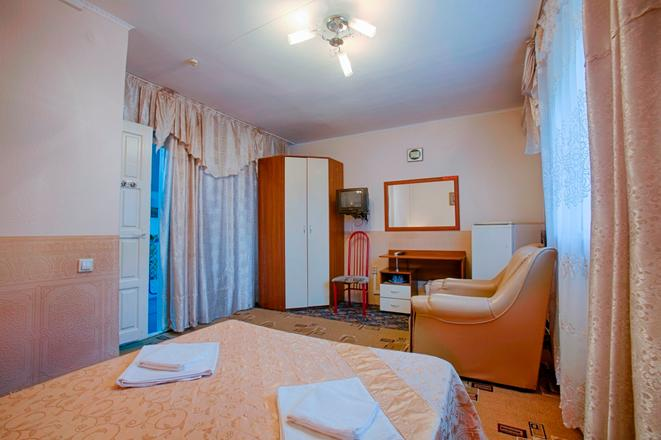 Двухместный номер. Фото: www.tetis-hotel.ru