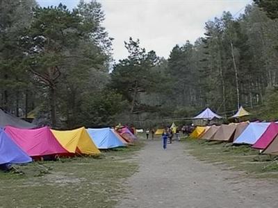 Палаточный городок на Алтае. Фото: www.shulzhik.ru