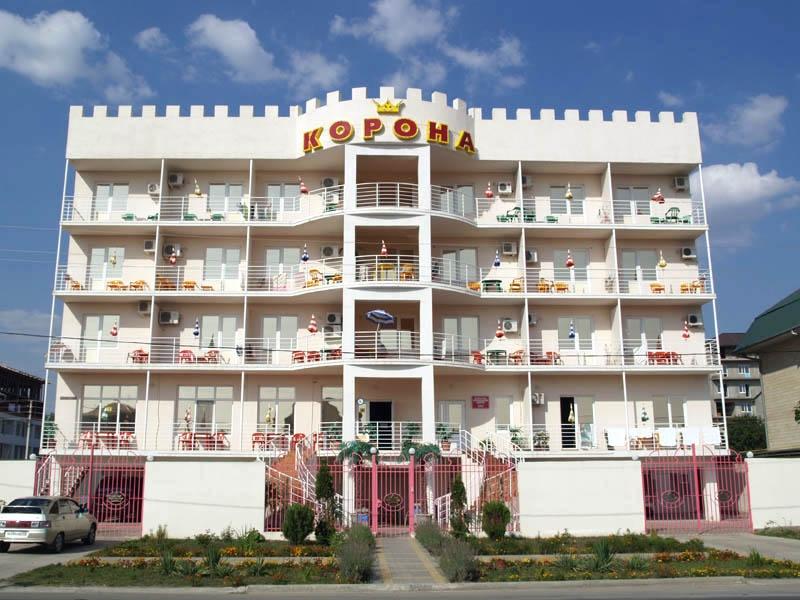 Отель «Корона». Фото: www.korona-anapa.ru