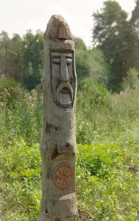 Кумир, берег озера Тургояк. Фото: Роман (Скоромысл) Суханов