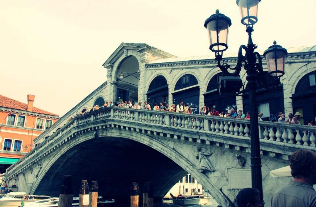 Мост Риальто. Фото Анжелика Бондарь.
