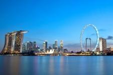 Сингапурское колесо обозрения (Singapore Flyer)