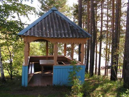 Беседка. Фото: geser-hotel.ru