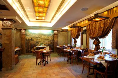 Ресторан. Фото: hotel.shato55.ru