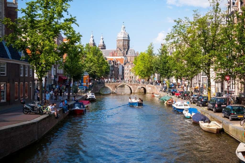 Канал Амстердама. Автор: danielfoster437. Фото:  www.flickr.com