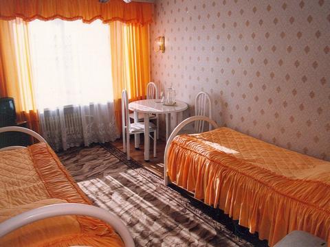 Двухместный номер. Фото: www.krastour.ru
