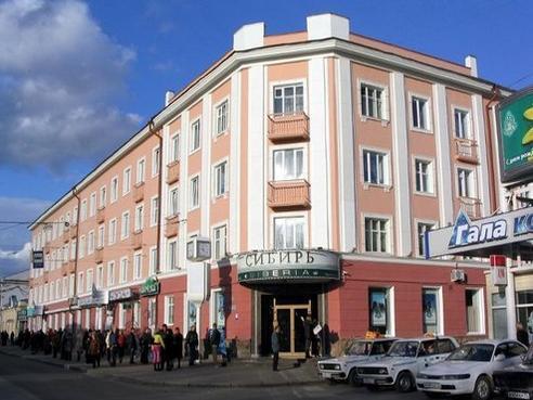 Фасад здания гостиницы «Сибирь». Фото: hotel-sibir.tomsk.ru