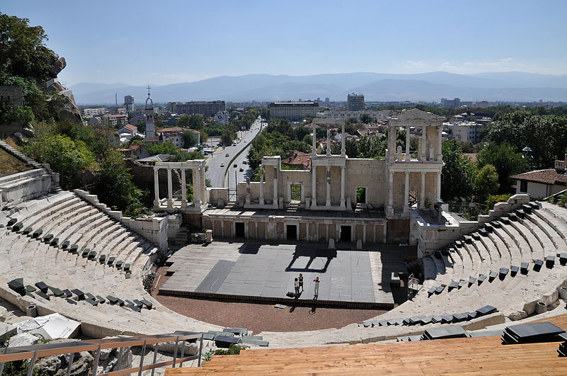 Античный театр. Фото: Plamen Agov