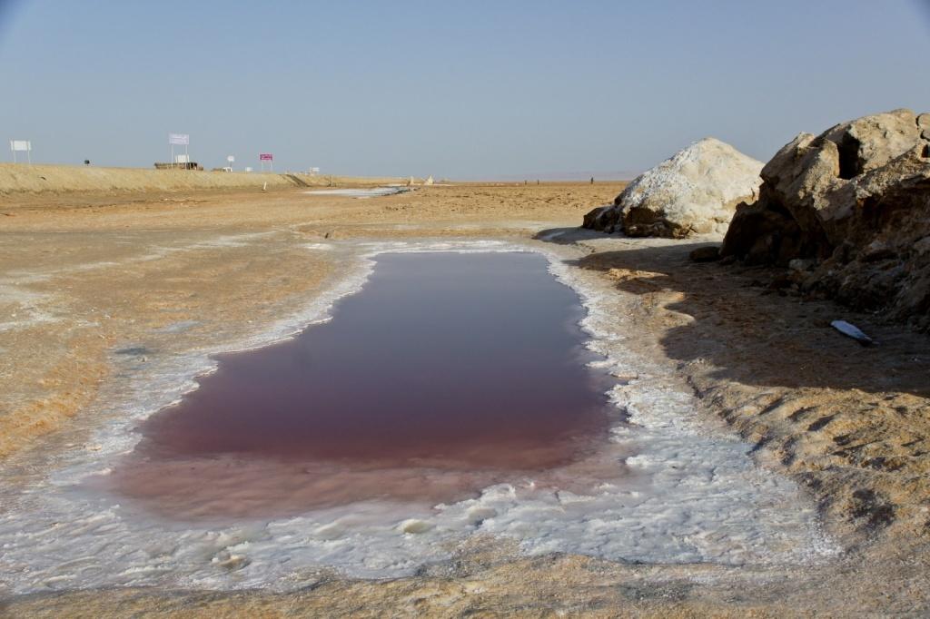 Соленое озеро Шотт-эш-Шерги. Автор: besopha. Фото:  www.flickr.com