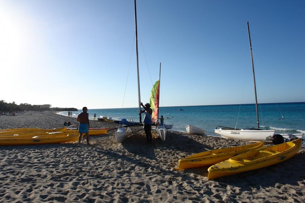 Гостеприимный пляж Варадеро. Фото:  Тонкости туризма