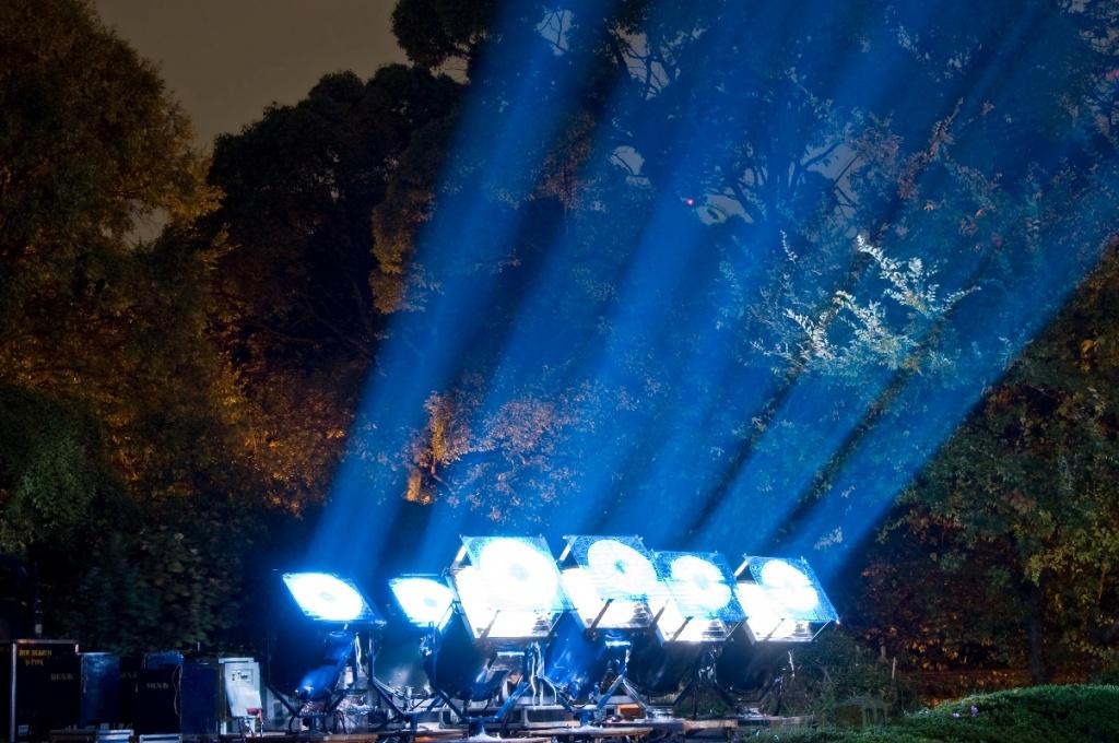 Подсветка башни. Автор: Clint Koehler. Фото:  www.flickr.com