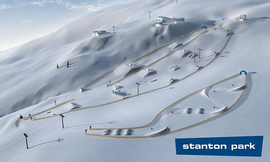 Сноуборд-парк. Фото: www.stantonamarlberg.com