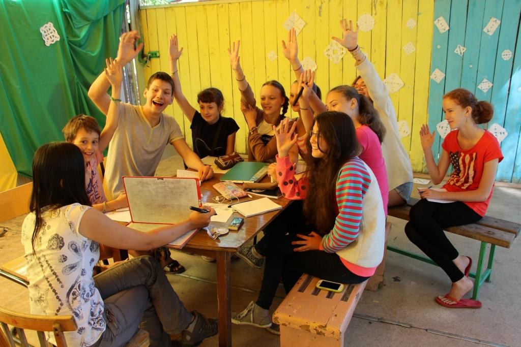 Увлекательные занятия с иностранными учителями