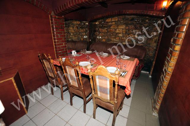 Кафе. Фото: www.hotel-most.ru