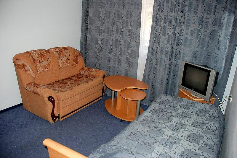 Номер «Стандарт». Фото: www.hotelchyran.ru
