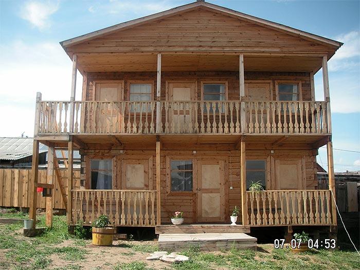 Деревянный дом, источник www.aldartai.ru