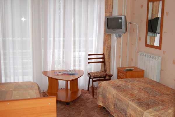 Стандартный номер. Фото: www.sssr-sochi.ru