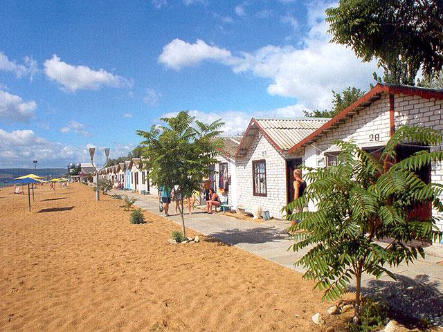 «Золотой пляж». Фото:  Отдыхающим в Крыму