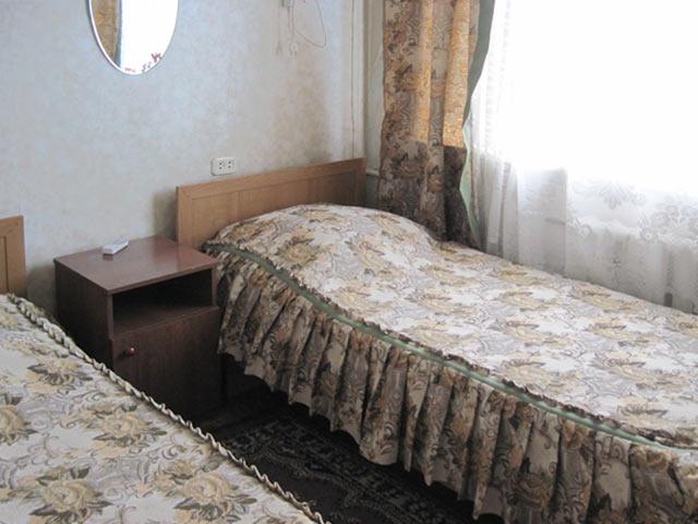Номер повышенной комфортности. Фото: www.hotelyeisk.ru