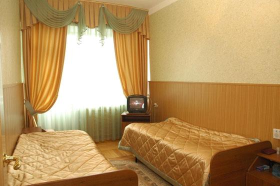 Двухместный стандартный номер. Фото: www.sanmashuk.ru