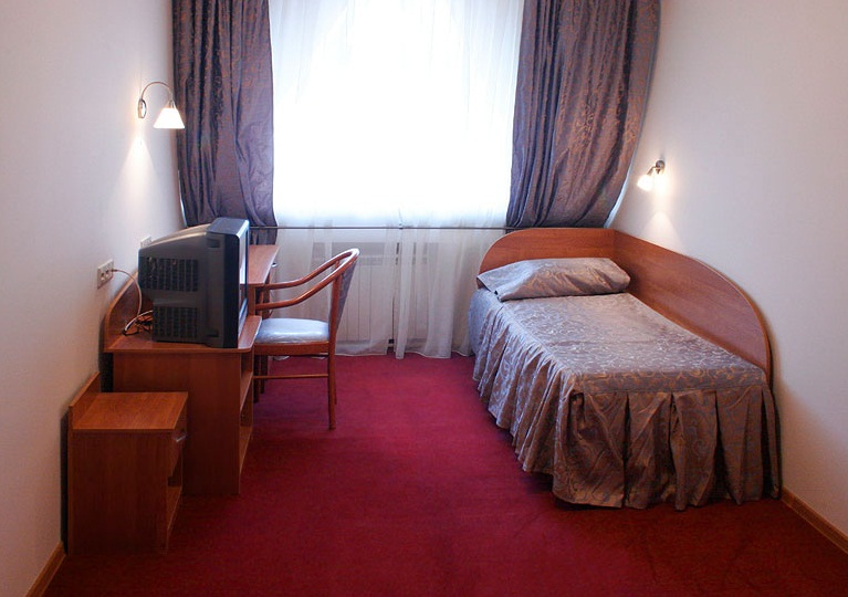 Одноместный номер. Фото: colibri-hotel.ru
